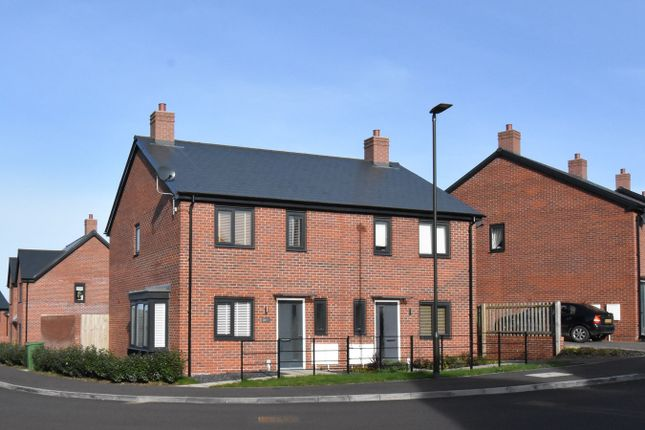 Thumbnail Semi-detached house for sale in Hawser Road, Mitton, Tewkesbury