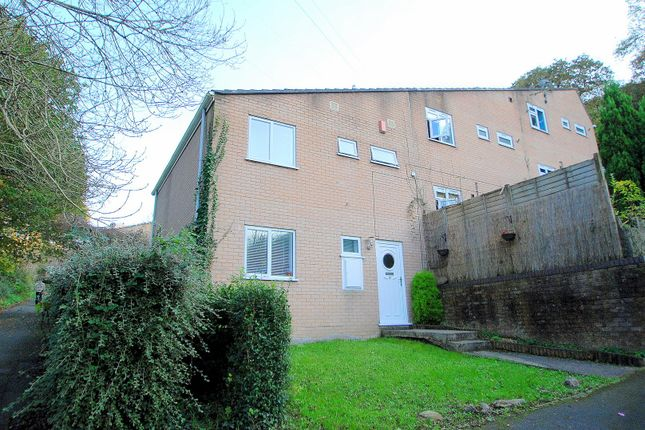Thumbnail End terrace house for sale in Oregon Way, Plymouth