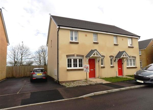 Thumbnail Semi-detached house to rent in Castleton Grove, Haverfordwest