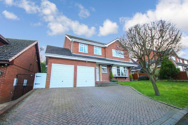 Thumbnail Detached house for sale in Charnwood Drive, Hartshill, Nuneaton