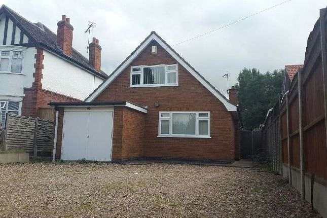 Thumbnail Detached house to rent in Lutterworth Road, Blaby, Leicester