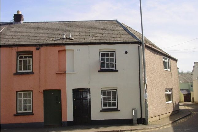 Thumbnail Terraced house to rent in Free Street, Brecon