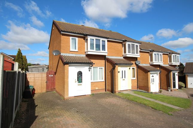 Thumbnail End terrace house for sale in Barker Close, Lawford, Manningtree