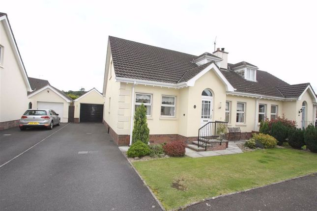 Thumbnail Semi-detached house for sale in Kinedale Cottages, Ballynahinch, Down