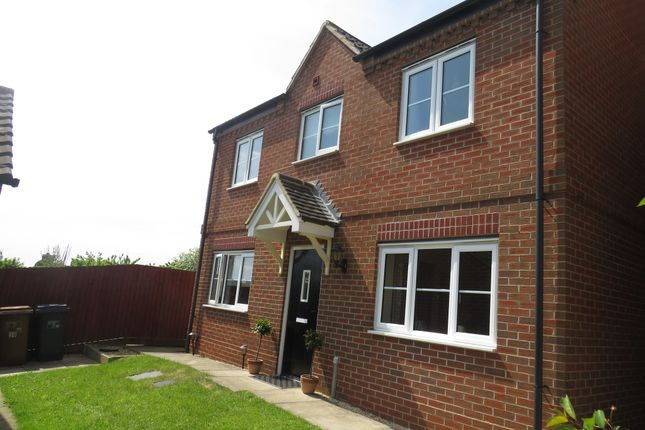 Thumbnail Semi-detached house for sale in Auckland Close, Kingsthorpe, Northampton