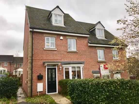 Thumbnail Semi-detached house for sale in Staley Farm Close, Stalybridge, Cheshire, United Kingdom