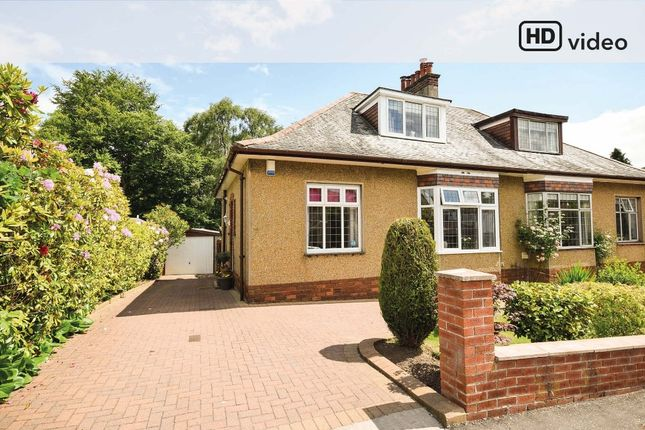 Thumbnail Semi-detached bungalow for sale in Netherview Road, Glasgow