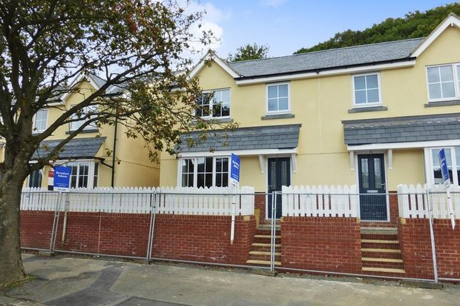 Thumbnail Semi-detached house for sale in Caernarfon Road, Bangor
