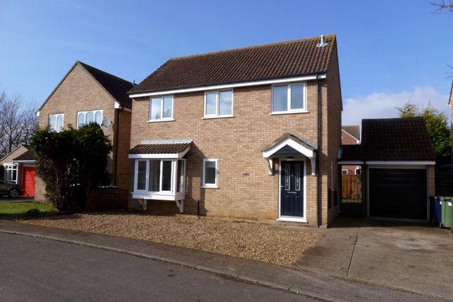 Thumbnail Detached house to rent in Orwell Close, St. Ives, Huntingdon