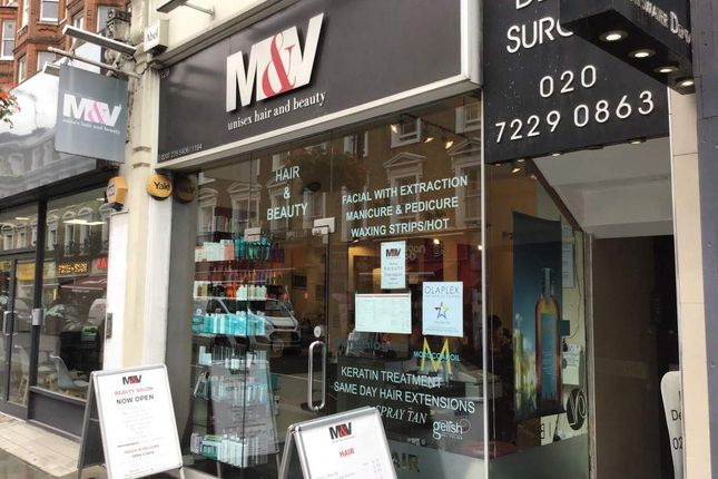 Thumbnail Retail premises for sale in Queensway, London