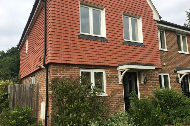 Thumbnail Semi-detached house to rent in Sandridge, Ridgewood, Uckfield