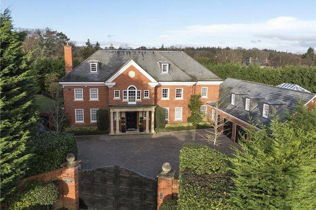 Thumbnail Detached house for sale in Queens Drive, Oxshott, Leatherhead, Surrey KT22.