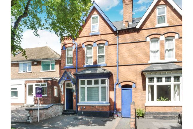 Thumbnail End terrace house for sale in Oxford Road, Birmingham