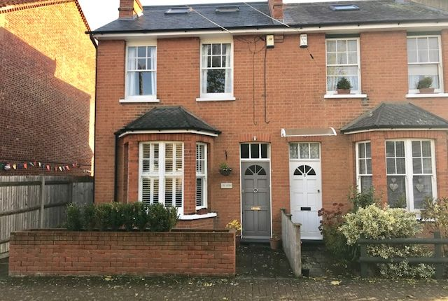 Thumbnail End terrace house for sale in The Retreat, Worcester Park