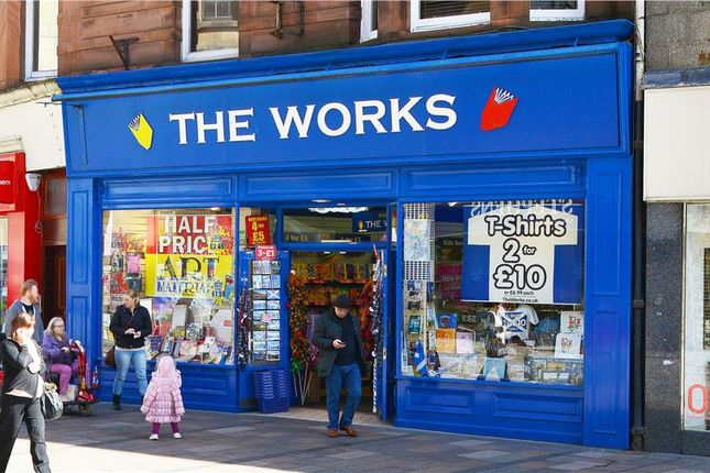 Thumbnail Retail premises to let in 15-17, Port Street, Stirling
