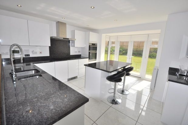 Thumbnail Detached house to rent in Harlestone Manor, Northampton