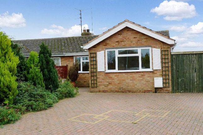 Semi-detached bungalow for sale in Queens Road, Bozeat, Northamptonshire