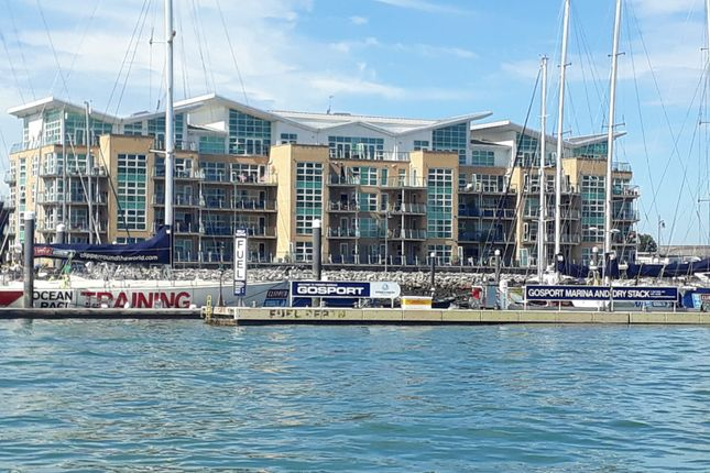 Thumbnail Flat for sale in Gosport Marina, Mumby Road, Gosport