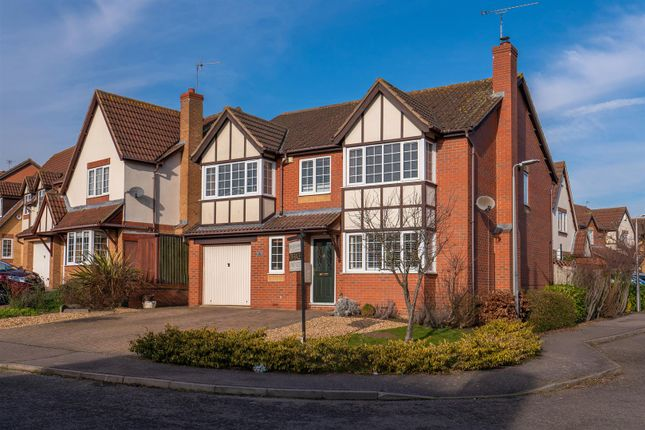 Thumbnail Detached house for sale in Colsons Way, Olney
