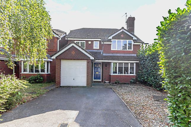 Thumbnail Detached house to rent in Alexandra Gardens, Knaphill, Woking