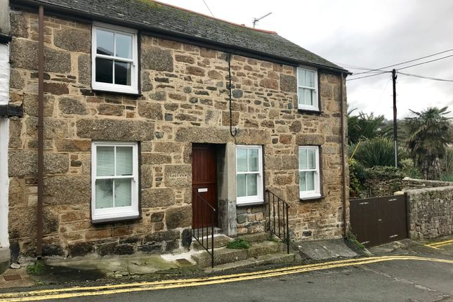 Thumbnail End terrace house for sale in St. Peters Hill, Newlyn, Penzance