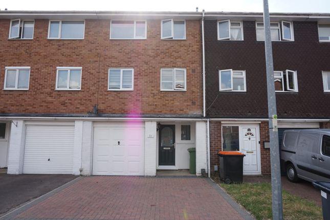 Thumbnail Terraced house for sale in Bossard Court, Leighton Buzzard