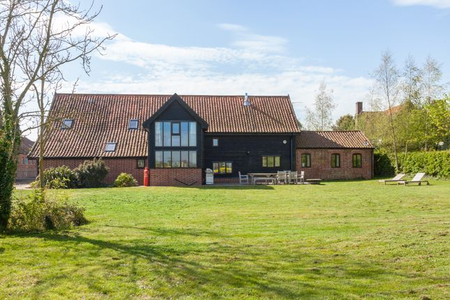 Thumbnail Barn conversion for sale in Station Road, Brampton, Beccles