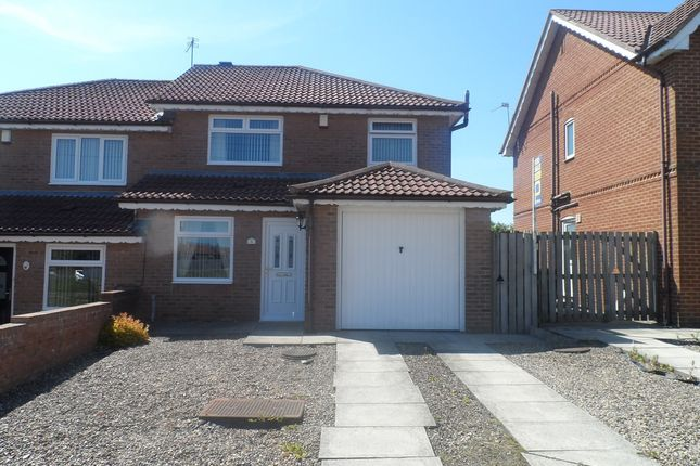 Thumbnail Semi-detached house for sale in Hawthorn View, Thornley, Durham