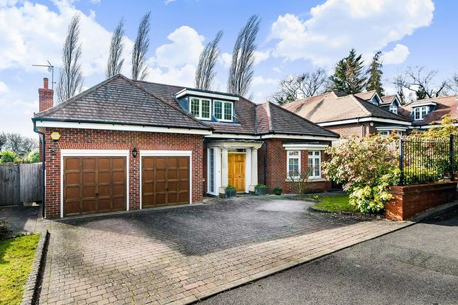 Thumbnail Detached house for sale in Abercorn Dell, Bushey Heath