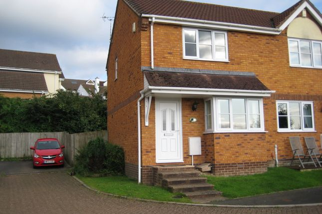 Thumbnail Semi-detached house to rent in Avery Hill, Kingsteignton, Newton Abbot