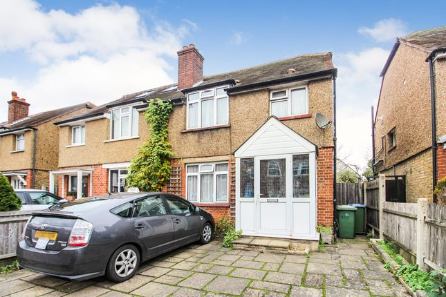 Thumbnail Semi-detached house for sale in Walton Road, West Molesey