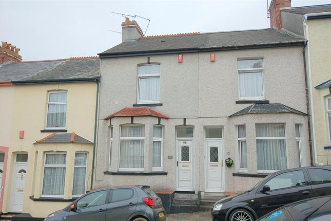 Thumbnail Terraced house for sale in Balmoral Avenue, Plymouth