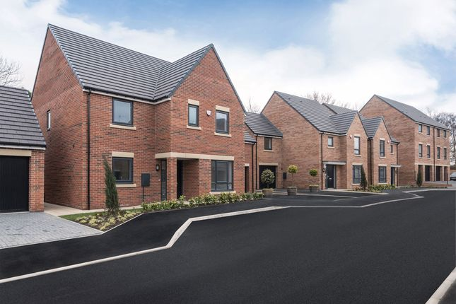 """Thumbnail Detached house for sale in """"The Benridge"""" at Loansdean, Morpeth"""