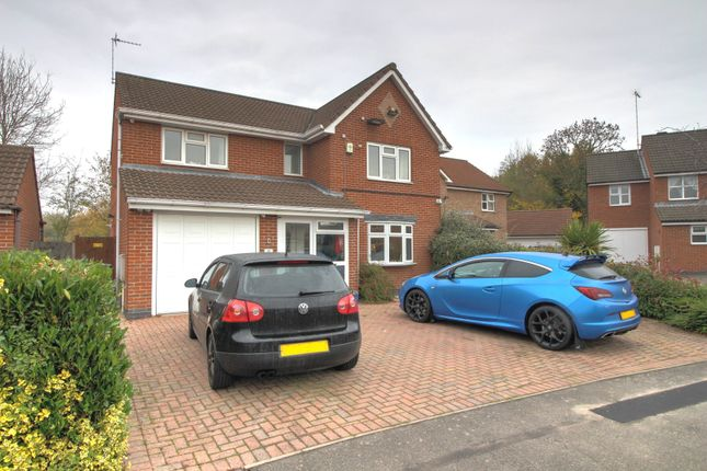 Thumbnail Detached house for sale in Astill Close, Ratby, Leicester