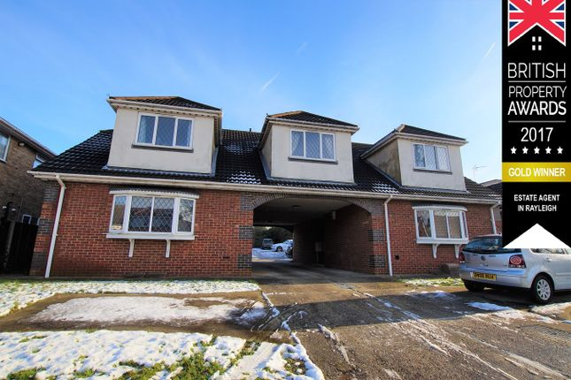 Thumbnail Flat for sale in 3 Philbrick Crescent, Rayleigh