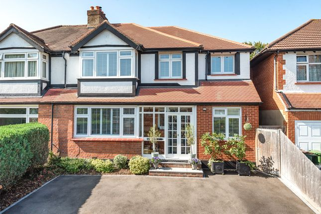 Thumbnail Semi-detached house for sale in Dalmeny Road, Carshalton, Surrey