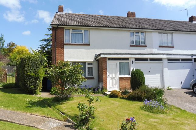 Thumbnail Semi-detached house for sale in Pascoe Close, Poole