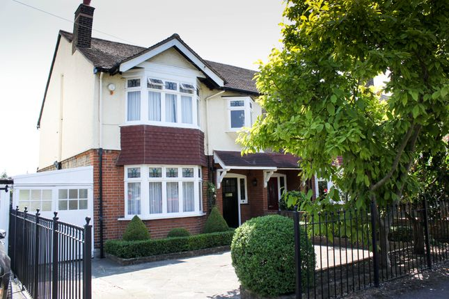 Thumbnail Semi-detached house for sale in Kings Avenue, Woodford Green, Essex