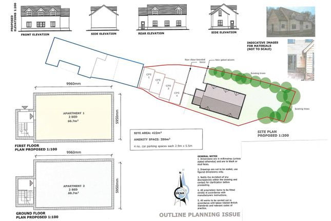 Thumbnail Land for sale in The Green, Rush Green Road, Clacton-On-Sea