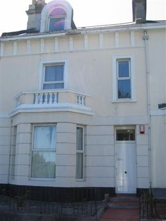 Thumbnail Town house to rent in Moor View Terrace, Mutley, Plymouth