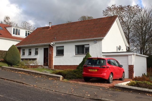 Thumbnail Detached bungalow to rent in Crawford Road, Milngavie