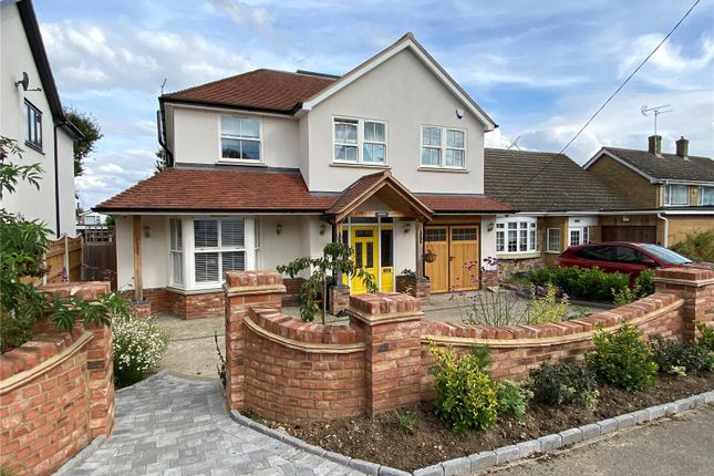 Thumbnail Detached house for sale in New Avenue, Langdon Hills, Basildon