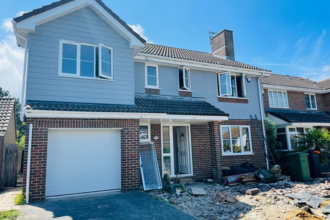 Thumbnail Detached house for sale in Quantock Close, Eastbourne