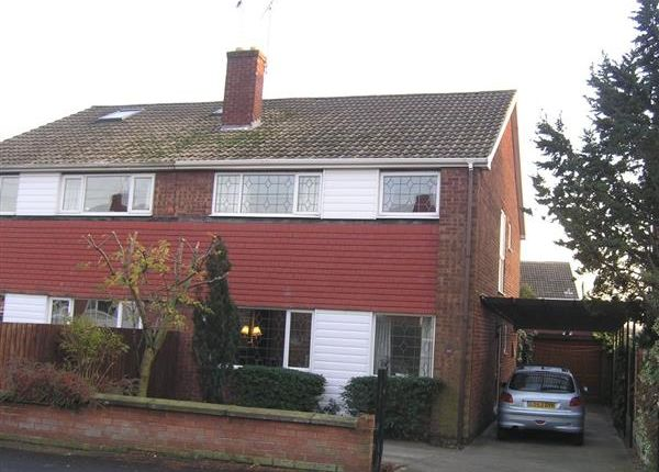 Thumbnail Semi-detached house to rent in Copper Beech Walk, Bottesford, Scunthorpe