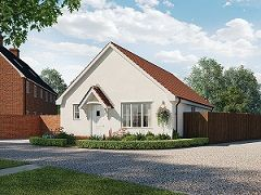 Thumbnail Detached bungalow for sale in Ipswich Road, Needham Market