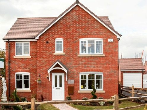 "Thumbnail Detached house for sale in ""The Corfe"" at Hewell Road, Redditch"