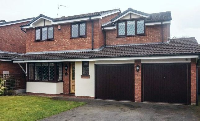 Thumbnail Detached house for sale in Pentire Road, Lichfield