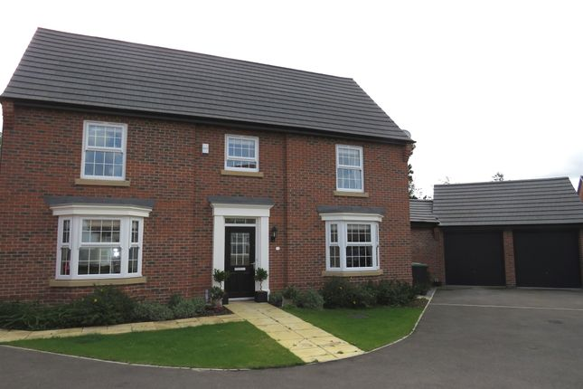Thumbnail Detached house for sale in Fort William Close, Greylees, Sleaford