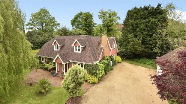 Thumbnail Detached house for sale in Upper Hale Road, Farnham, Surrey
