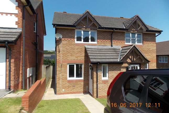 Thumbnail Semi-detached house to rent in Manor View, Par, St Austell